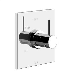 """TRIM PARTS ONLY External parts for single exit pressure balance Single backplate 1/2"""" connections Requires in-wall rough valve 09272 Product Image"""