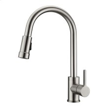 Firth Single Handle Kitchen Faucet with Single Handle 1 - Brushed Nickel