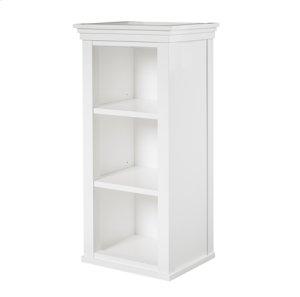 "Shaker Americana 18x16"" Linen Hutch - Polar White Product Image"