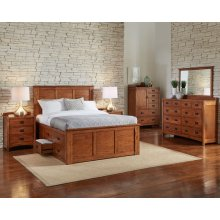 Cal King Captain Bed