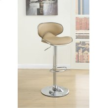 F1564 / Cat.19.p62- ADJUSTABLE BARSTOOL BRWN