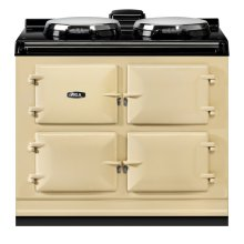 "AGA Dual Control 39"" Electric Cream with Stainless Steel trim"