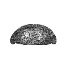 Florid Leaves - Antique Pewter