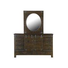 Portrait Oval Mirror