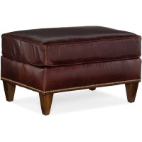 Bradington Young Howe Stationary Ottoman 769-OT Product Image
