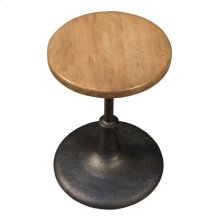 Gunmetal Dining Stool
