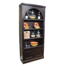 Classic Book Cabinet - Blk