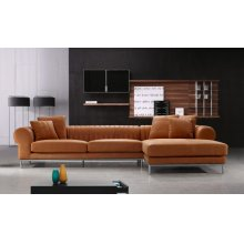 Divani Casa 1004 Modern Top Leather Sectional Sofa