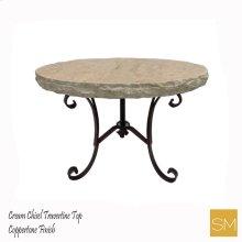 * Travertine Console Table 1223 L