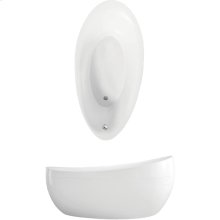 Bathtub Freestanding - white (alpin)