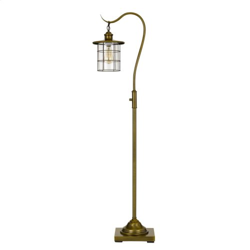 Silverton desk lamp with glass shade (Edison bulb included)