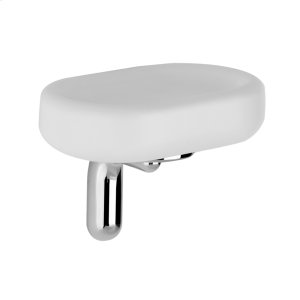 SPECIAL ORDER Wall-mounted soap dish - white Gres Product Image