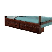 Heartland Under Bed Two Drawer Storage with options: Chocolate