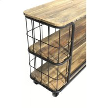 Cage Iron Console