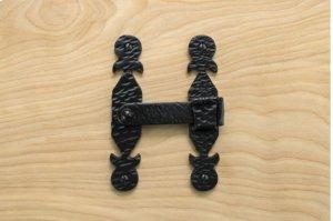 "Black 5.25"" Gate Bar Latch 412761 Product Image"