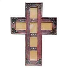 4x6 Red Cross Picture Frame