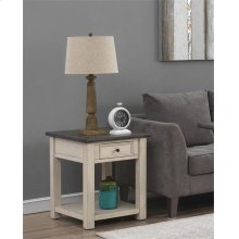 1 Dr End Table
