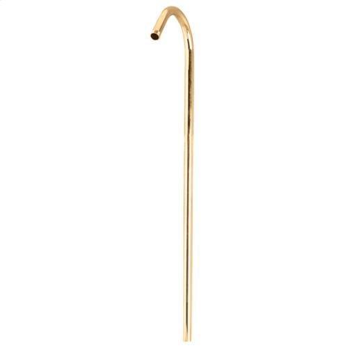 """Shower Riser - 50"""" - Polished Brass"""