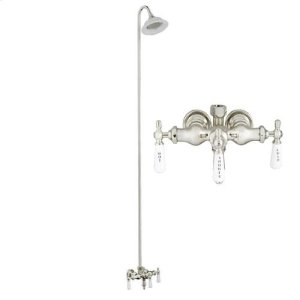 Tub/Shower Converto Unit - Diverter Faucet, Old Style Spigot, Sunflower Showerhead for Cast Iron Tub Product Image