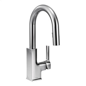 STo chrome one-handle pulldown bar faucet Product Image