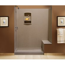 Shower Kit with Bench Seat
