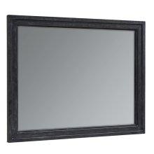 Blackened Bronze Foundry Mirror