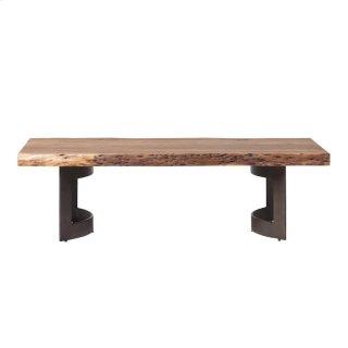 Bent Coffee Table Smoked