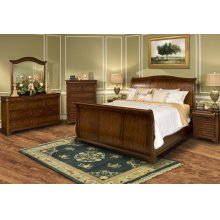 Queen Headboard, Footboard and Rails