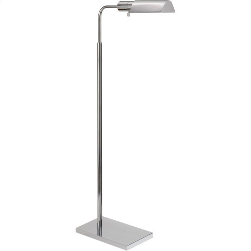 Visual Comfort 91025PN Studio Classic 34 inch 60 watt Polished Nickel Task Floor Lamp Portable Light