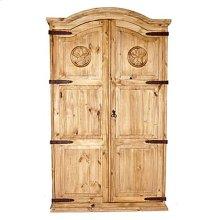 Full Door Armoire W/star