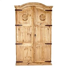 Full Door Armoire W/star