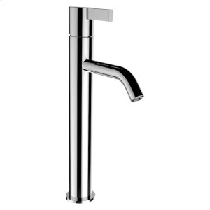 Column single lever basin mixer, projection 125 mm, fixed spout, without pop-up waste Product Image