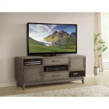 Vogue - 66-inch TV Console - Gray Wash Finish