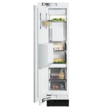 """18"""" F 1473 Vi Built-In Freezer with Water Dispenser and Custom Panel Ready - 18"""" Freezer w/ Ice Water Dispenser"""