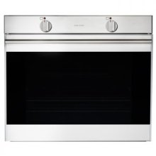 "30"" (76cm) wide stainless steel oven"