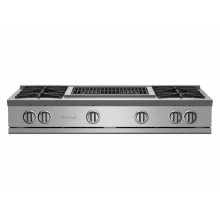 """48"""" RNB Rangetop with 24"""" Charbroiler"""