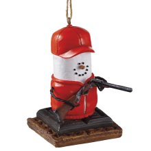 S'mores Hunter Ornament