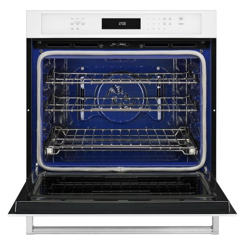 """27"""" Single Wall Oven with Even-Heat™ True Convection - White"""