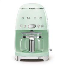Drip Coffee Machine, Pastel Green