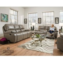 Jamestown-smoke Sofa 88907-30