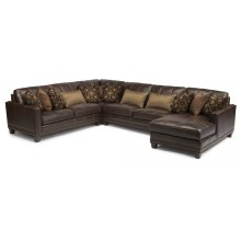 Port Royal Leather Sectional