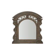 Vintage Salvage Bentley Carved Mirror