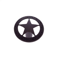 "Oil Rubbed Bronze 1-7/16"" Medium Star Knob"