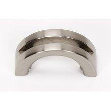 Slit Top Pull A421 - Satin Nickel