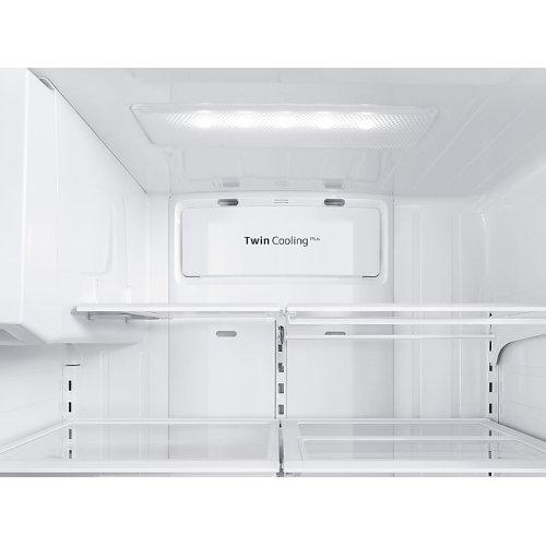 24 cu. ft. Family Hub 3-Door French Door Refrigerator in Black Stainless Steel