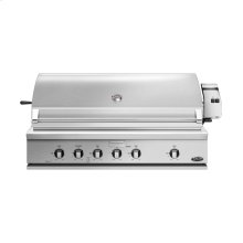 """48"""" Traditional Grill With Rotisserie, Griddle and Hybrid Ir Burner"""