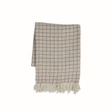 Hand Woven Barrett Throw Fawn