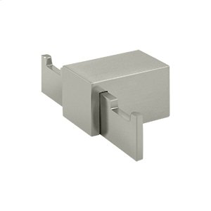 Double Robe Hook ZA Series - Brushed Nickel Product Image