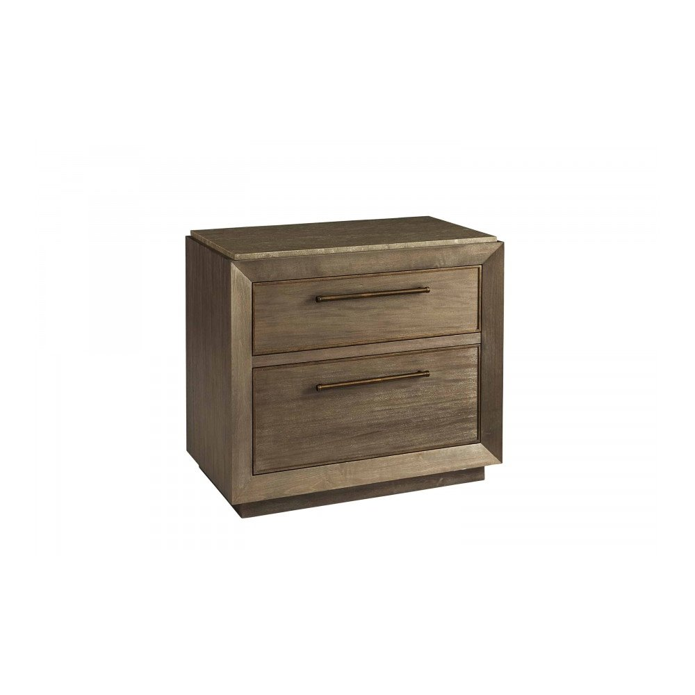 WoodWright Champagne Wright Nightstand