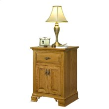 Traditional 2-Drawer Nightstand
